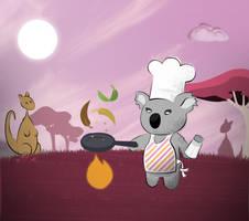 Koala Chef by dani9del9