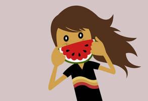 Fruit smile by dani9del9