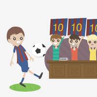 Lionel Messi vectorial by dani9del9