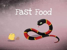 Fast Food by dani9del9