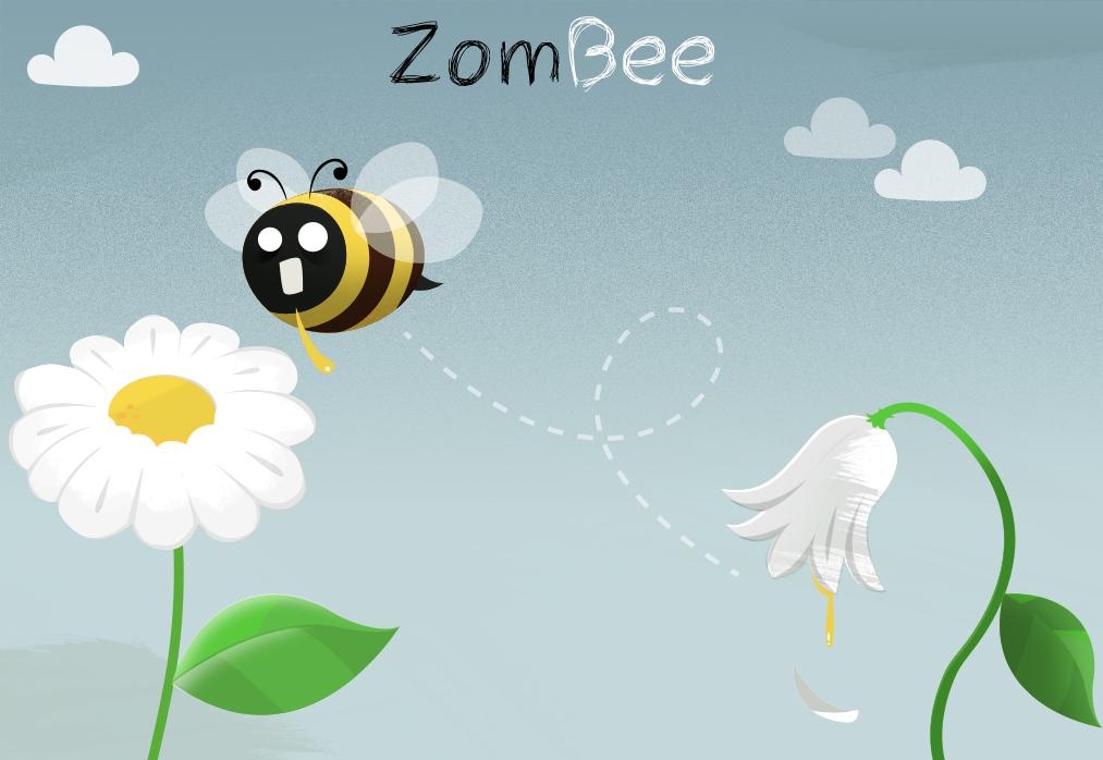 zom-bee by dani9del9