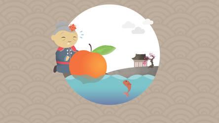 Peach 3 by dani9del9