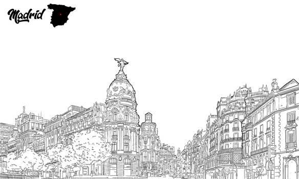 Madrid by dani9del9