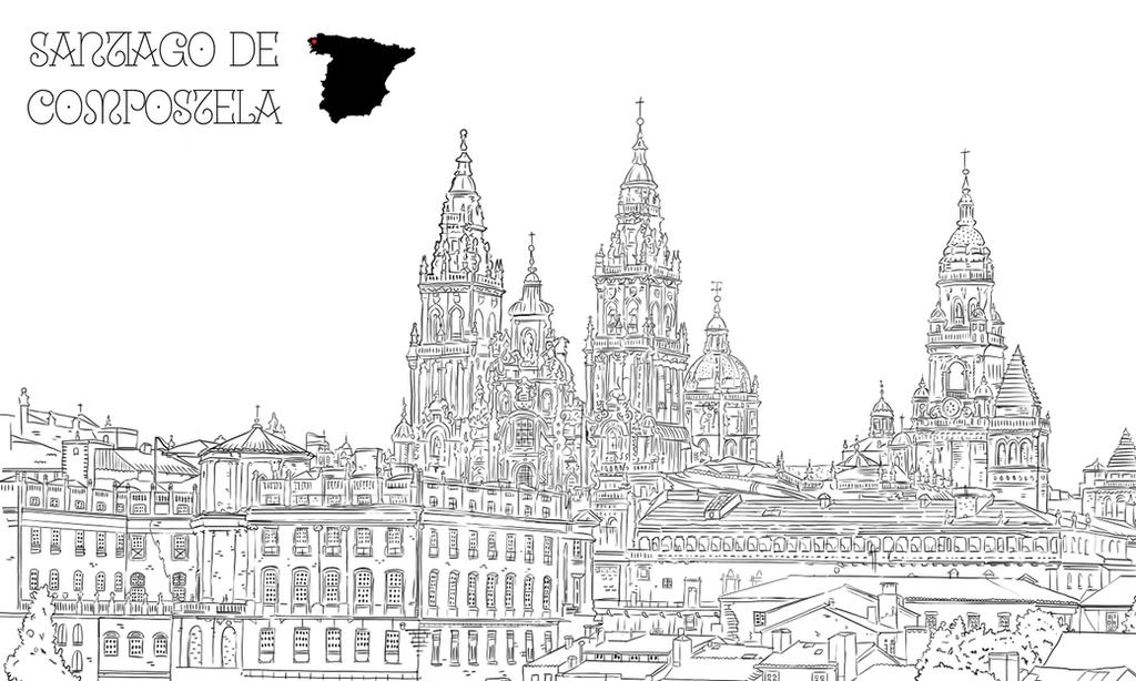 Santiago de Compostela by dani9del9