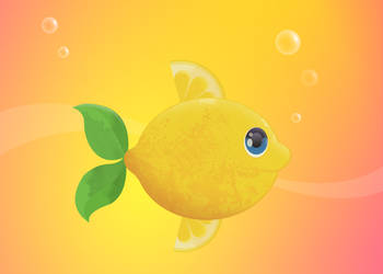 Lemon Fish by dani9del9