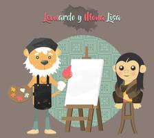 Leonardo + Mona Lisa