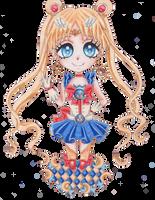 Chibi Sailor Moon Puella by Cherryblossomfang