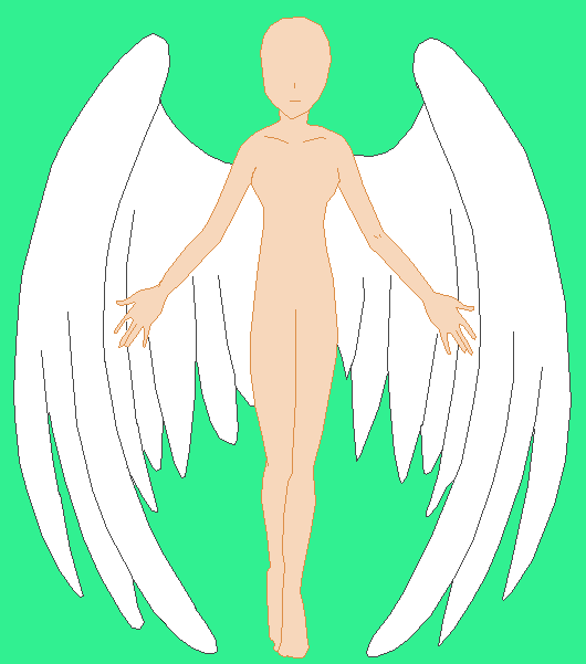 angel base by carolinagirl97 on DeviantArt