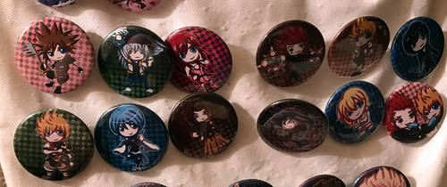 Kingdom Hearts Buttons