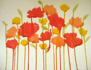 Poppies are Running