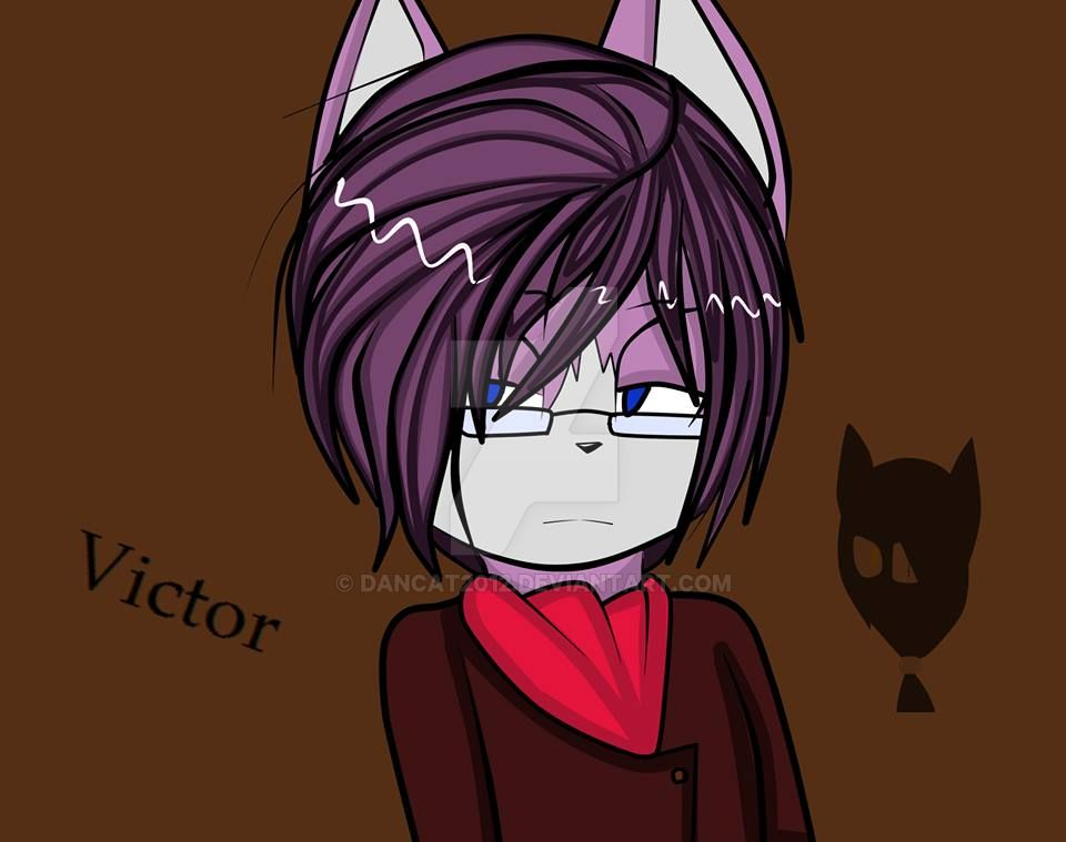 Victor the wolf by dancat2012