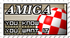 Amiga stamp by Melomonster