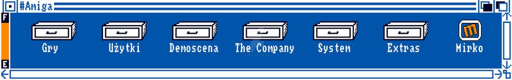 Workbenchowy banner dla tagu #amiga na wykopie by Melomonster