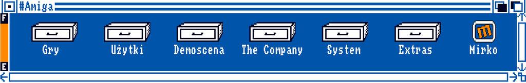 Workbenchowy banner dla tagu #amiga na wykopie