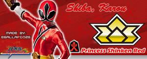 Princess Shinken Red Sig