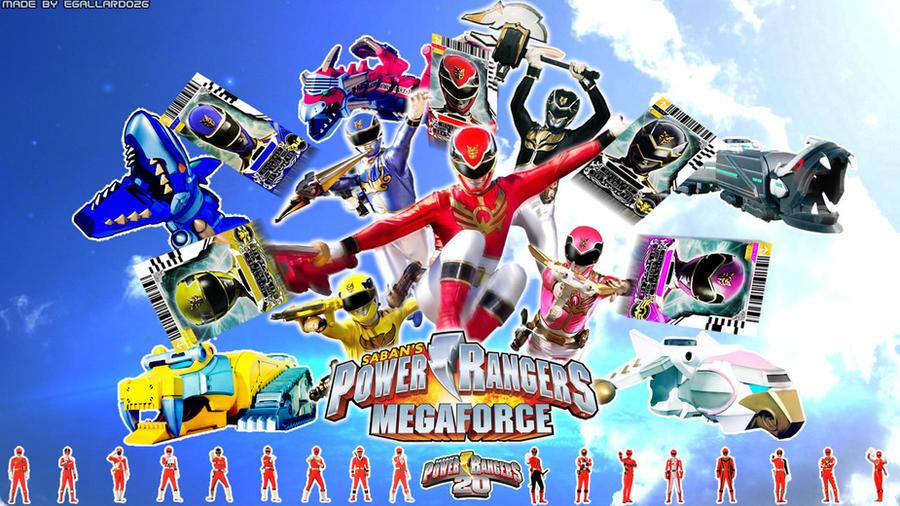 Power Rangers Super MegaForce 2014