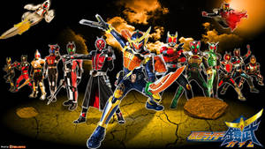 Kamen Rider Gaim - Legend Rider Wallpaper
