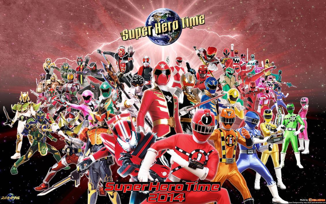 Super Hero Time 2014 Wallpaper by egallardo26