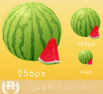 Qarpiz ikonu - Watermelon icon