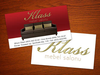 Klass Mebel - Business Card by rasulh