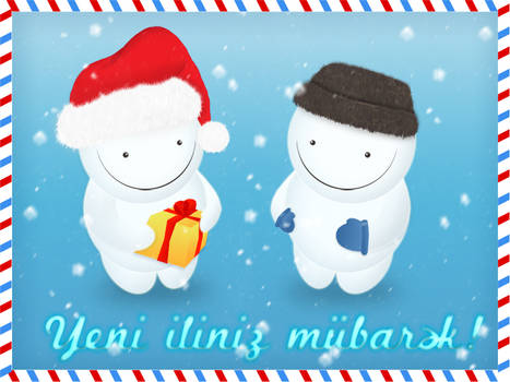 Happy New Year - Greeting Card