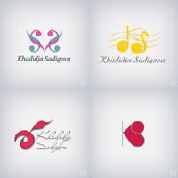 Logos for Khadidja Sadigova by rasulh