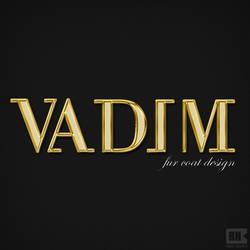 'Vadim-fur coats' logo design by rasulh
