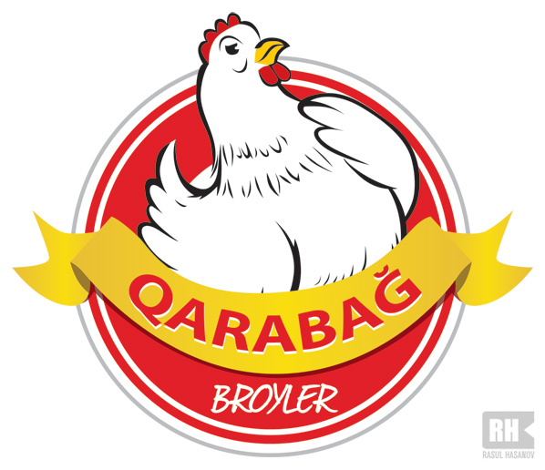 Qarabag Broiler - Logo Design