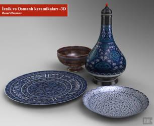 Iznik and Ottoman Ceramics by rasulh