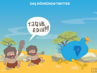 Twitter Stone Age by rasulh