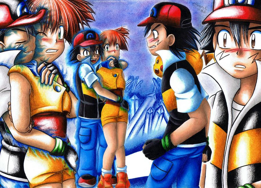 pokemon adventure meet the eevee family