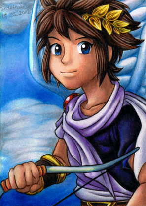 Kid Icarus Pit By MiyaToriaka On DeviantArt