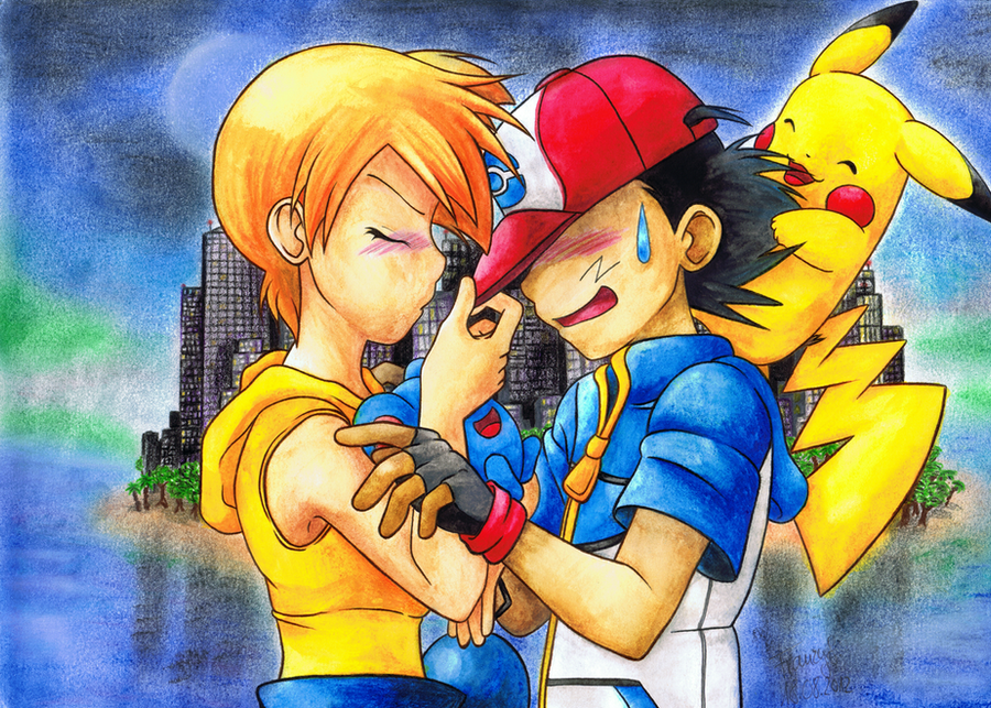 Pokeshipping: Grow up, Ash Ketchum by MiyaToriaka