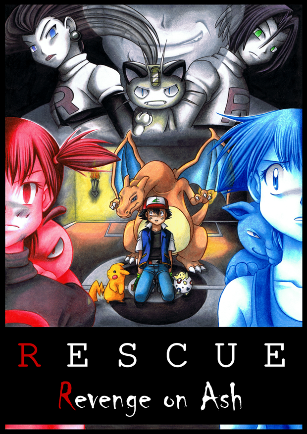 Rescue - Revenge on Ash - Main-Cover by MiyaToriaka