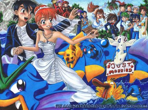 Happy Wedding 7th Anniversary by MiyaToriaka