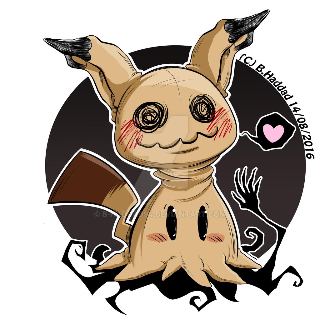 Pokemon Fan Art Mimikkyu 628124150