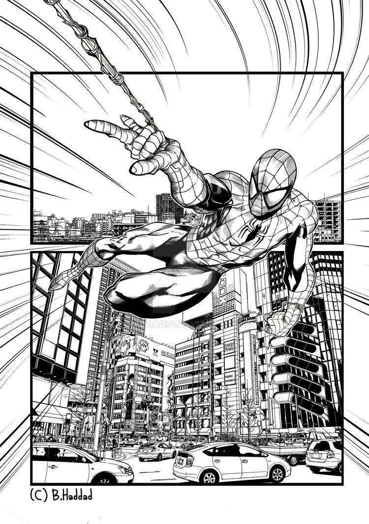 The Amazing Spider- Man by B-haddad94