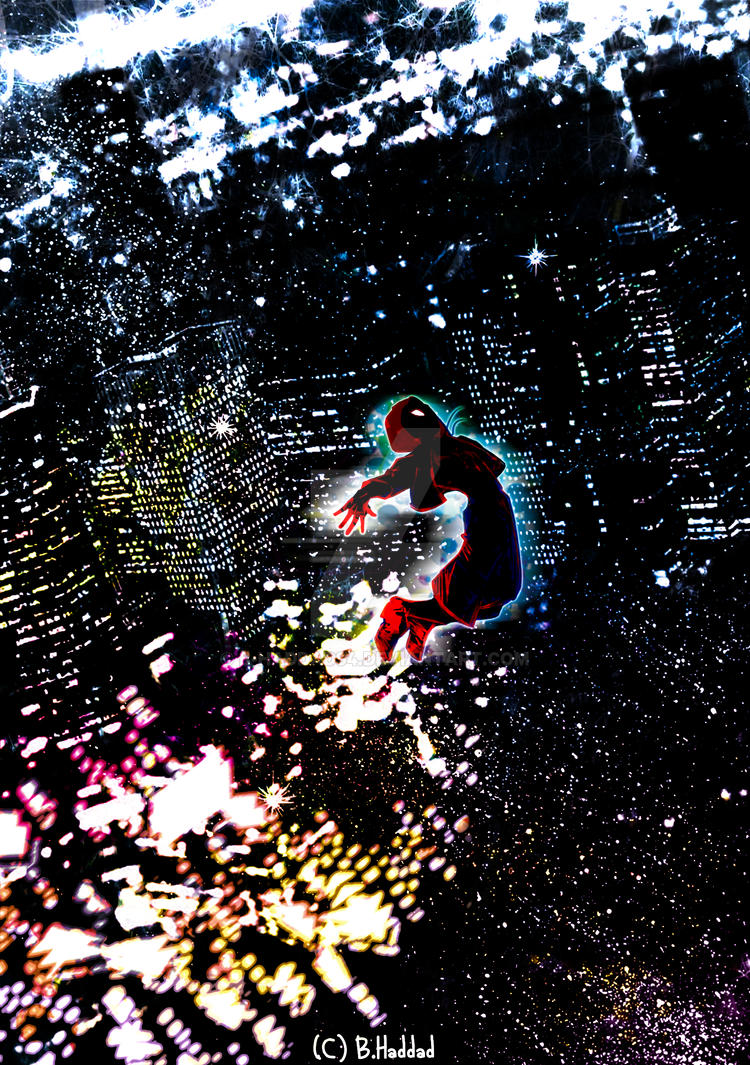 Into the spider-verse by B-haddad94
