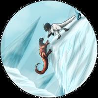 Hold on, I'm coming! - Senay, Venus (Kukuri) by KarasuShade