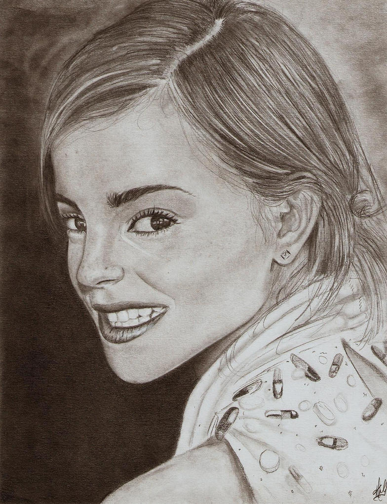 Emma Watson by KerryDale