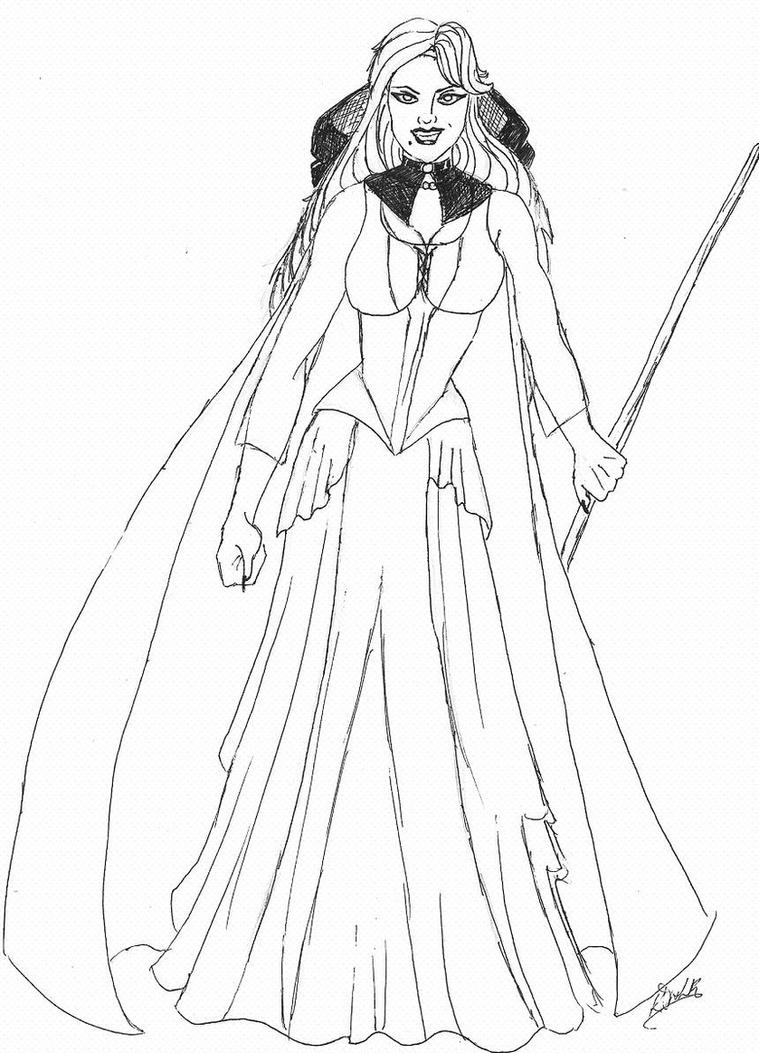 hocus pocus coloring pages - sarah sanderson hocus pocus by kerrydale on deviantart