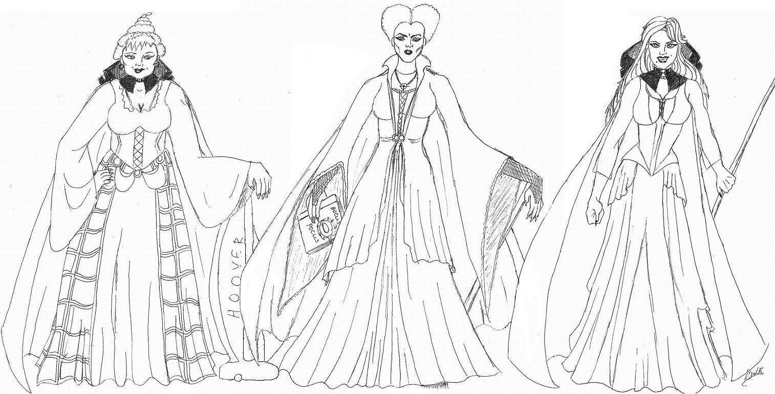 the sanderson sisters by kerrydale