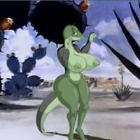 striptease on the desert by maxtlat
