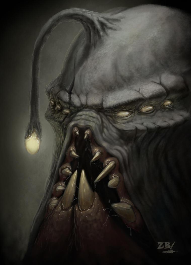 Monster Portrait by Zoltan86