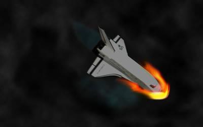 SpaceCraft Landing by Abhimanyu