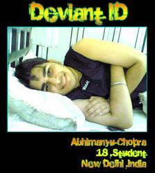 DeviantID by Abhimanyu