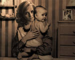 Hermione and Baby Rose