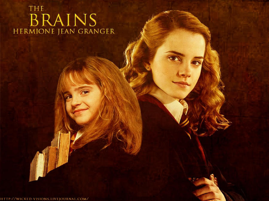Hermione - Then and Now by KMeaghan on DeviantArt