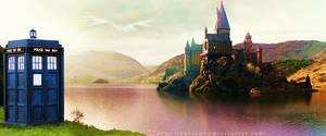 TARDIS at Hogwarts