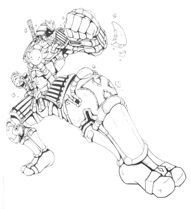 Striking Knight Redux by DarthSkooba